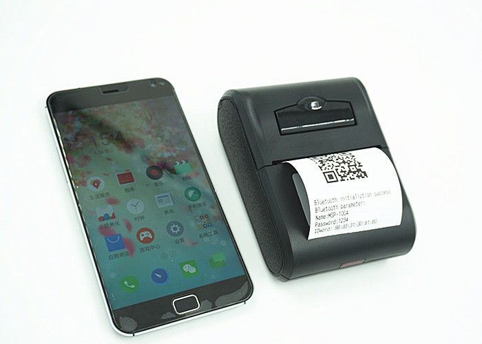 Portable 2 Inch IOS  58mm Barcode BluetoothThermal Printer For Food Order Set