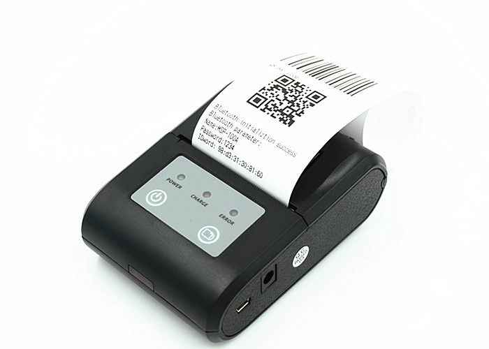 Pocket Barcode Label Bluetooth Thermal Printer For Wireless POS System